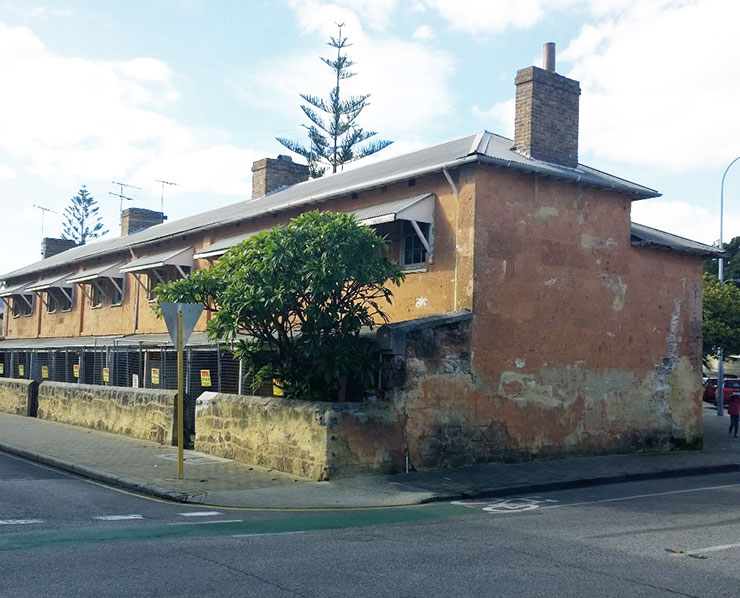 Fremantle Warders Cottages