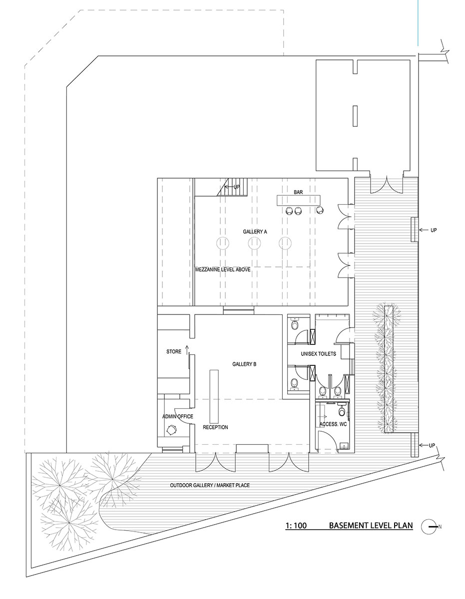 Plan of The Royal Hotel