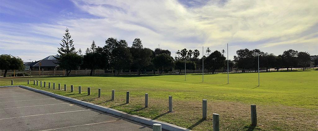 Belhaven Park Sports Building Site